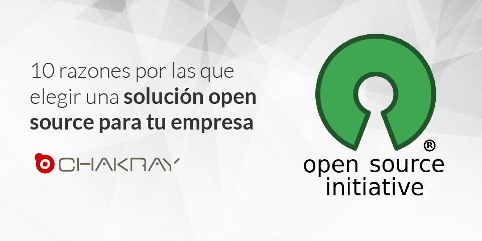 10 razones por las que elegir una solución Open Source para tu empresa