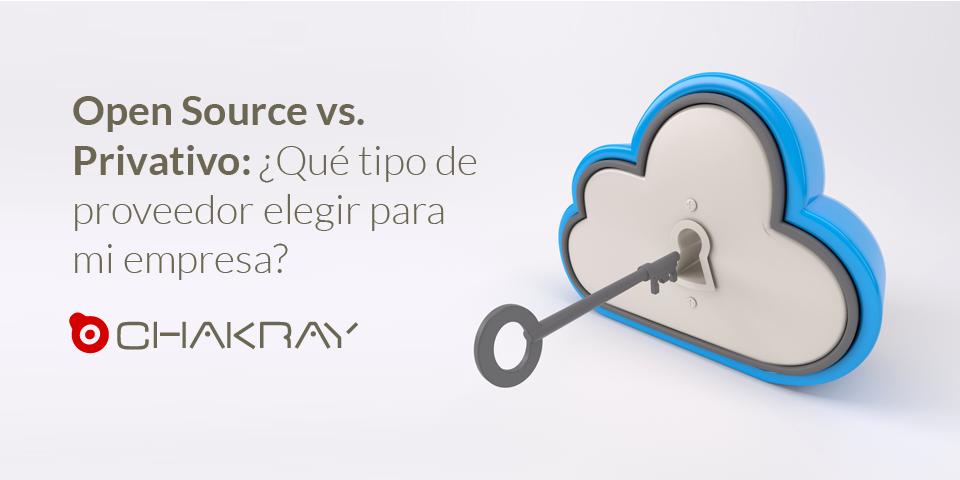 Open Source vs. software propietario: ¿Qué tipo proveedor elegir para mi empresa?